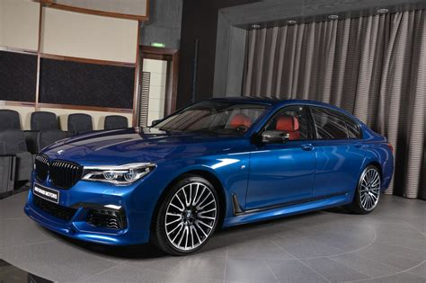 avus blue 750li is an alluring mix of bmw individual and aftermarket parts carscoops