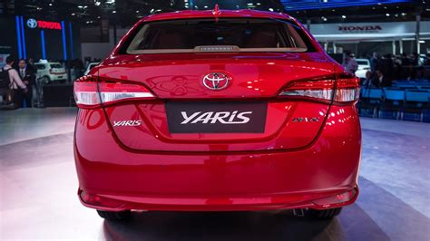 Toyota Yaris Sedan Revealed At 2018 Auto Expo; Launch