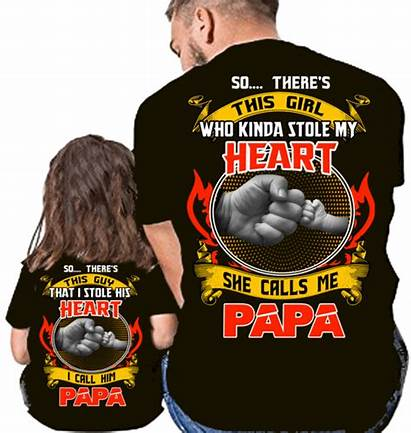 Grandpa Granddaughter Shirts Heart Shirt Stole Today