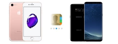iphone to samsung transfer how to transfer contacts from iphone to samsung galaxy s8