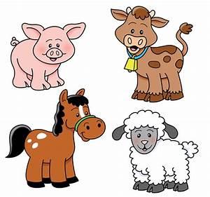 Adorable Baby Farm Animals Clip Art and Free Clipart Farm