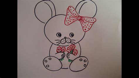 zeichnen ideen anfänger eine maus zeichnen tiere zeichnen ideen zur kindergeburtstag einladung how to draw a mouse