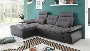 L Sofa Mit Schlaffunktion : sofa longchair l jakarta mit schlaffunktion schwarz anthrazit ~ A.2002-acura-tl-radio.info Haus und Dekorationen