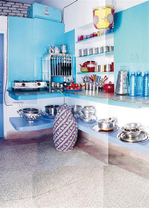 cuisine bleu clair cuisine bleue