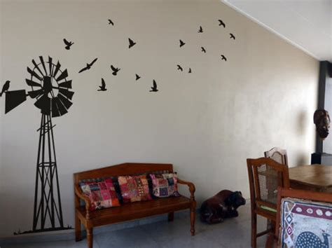 Bedroom Wall Decor South Africa by Wall Decals South Windpump Windpomp Wall