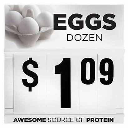 Sign Dozen Eggs Signs Spiral Flip Wilde