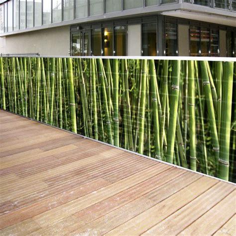 Brise Vue En Toile Pour Balcon, Terrasse Et Piscine