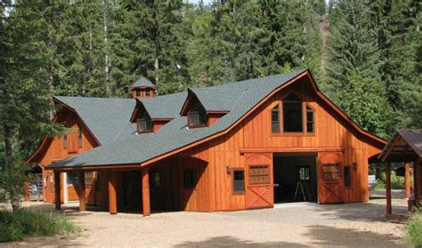 Apartment Barn Plans by Barn With Apartment Plans The Great Western Style