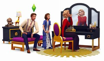 Sims Glamour Stuff Render Pack Table Side