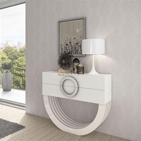 boite de rangement cuisine console design moderne laque ou bois 2 tiroirs pied demi