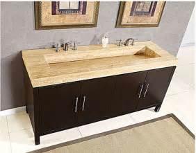 Single Sink Bathroom Vanity With Makeup Area by Silkroad Exclusive Double 72 Quot Bathroom Vanity Hyp 0227 72
