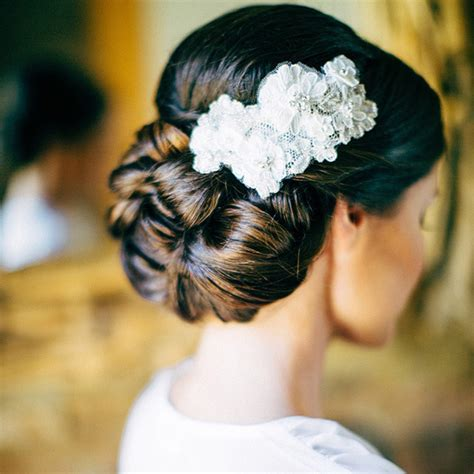 7 Stunning Wedding Updos for Every Type of Bride   StyleCaster