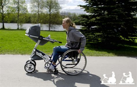 baby strler lustig wheelchair adaptive stroller yanko design