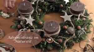 weihnachtsdeko 2015 holz diy adventskranz schmücken binden im naturlook i advents und weihnachtsdeko i how to