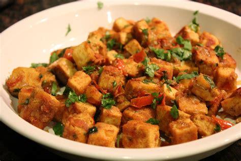 tofu cuisine indian curried tofu recipe on honest cooking