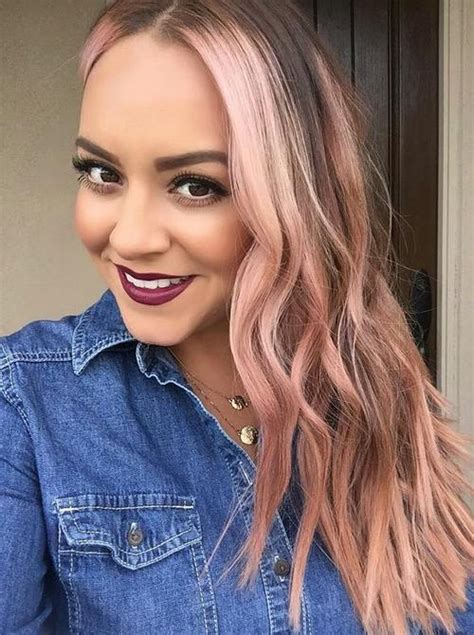 With Pink Highlights Hairstyles by Pink Hair Highlights For 2017 2019 Haircuts Hairstyles