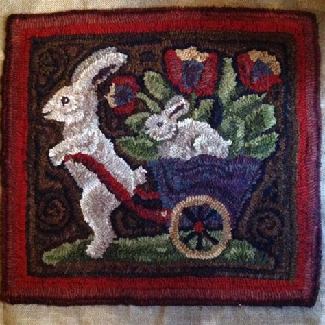 Rug Punching by Pin By Strebel On Rabbits Rug Hooking