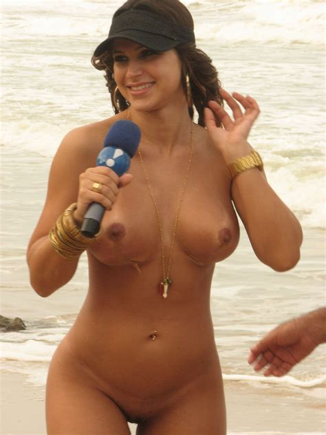 Reporter Brazilian Girl Naked On Beach Mulhersamambaia