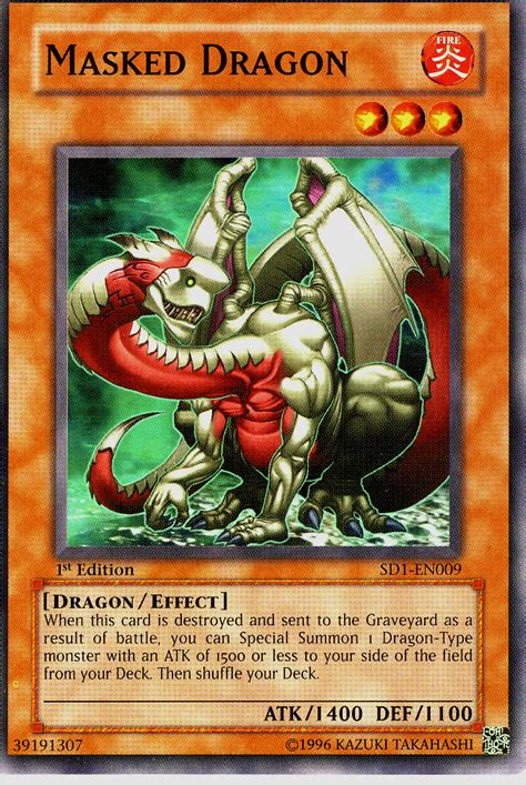 Masked Deck Yugioh by Masked Sd1 En009 Non Holo At Yu Gi Oh Cards Net