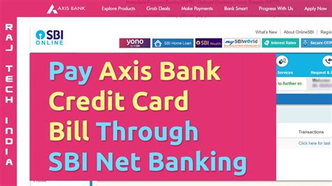A financial institution or other organization that issued the credit card to the cardholder. Axis Bank Credit Card Payment Through Sbi Debit Card - Bank Western