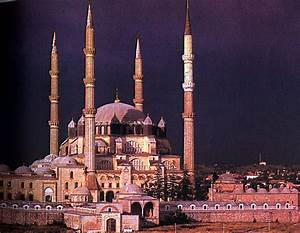 World, History, Islamic, Art, The, Selimye, Mosque