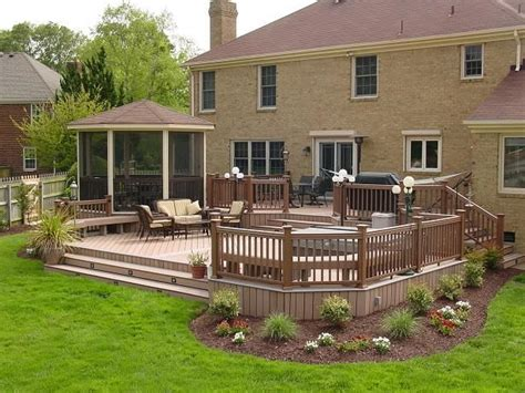 Home Deck Design Ideas by Composite Deck I This Deck For The House I Wanna