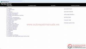 Mitsubishi Flat Rate 2014my Workshop Manual