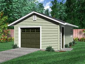 one level home plans detached garages