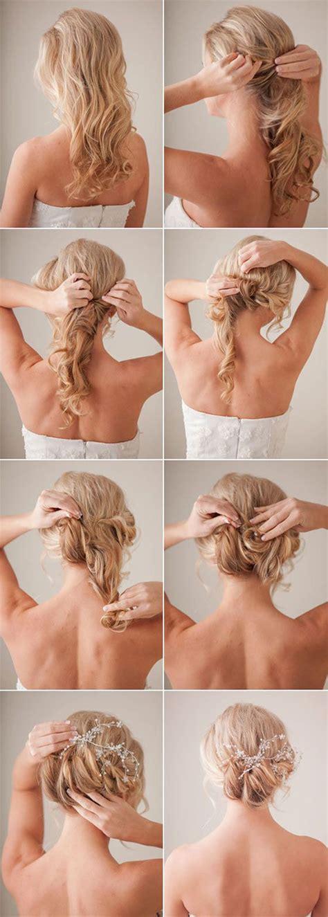 simple step  step winter hairstyle tutorials