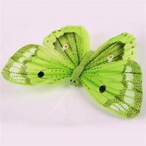 Schmetterling Am Kinderbett : gr ne schmetterling figuren gro e deko schmetterlinge ~ Lizthompson.info Haus und Dekorationen