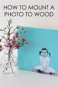 DIY: Modern Photo Wall Art - Project Nursery