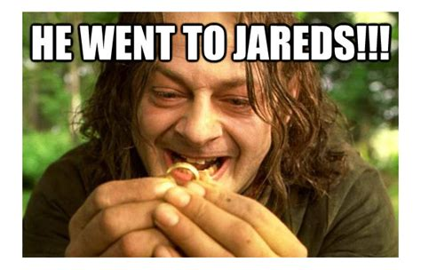 He Went To Jared Meme - he went to jared jewelry secrets