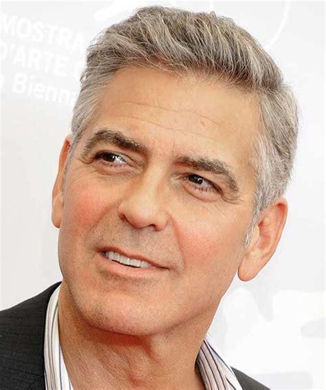 25 George Clooney Hairstyles   Mens Hairstyles 2017