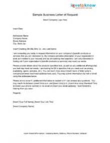 tag formal letter of request