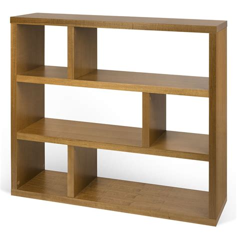 Low Modern Bookcase dublin modern low mukali bookcase by temahome eurway
