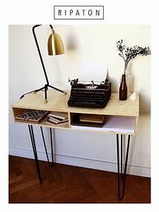Table Pied Epingle : 17 best ideas about pied de table design on pinterest ~ Edinachiropracticcenter.com Idées de Décoration