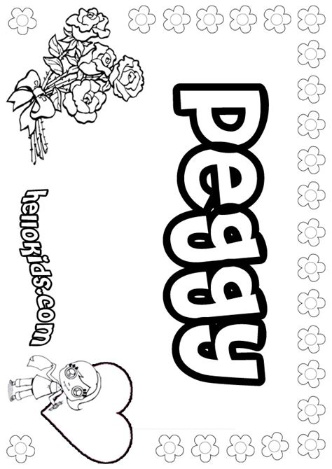 peggy coloring pages hellokidscom