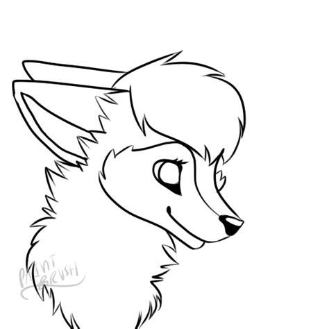 animal jam fox base custom  moonadoptss  deviantart
