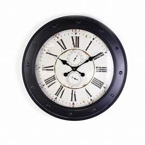 Horloge Murale Industrielle : cat gorie horloges pendule et comtoise page 6 du guide et comparateur d 39 achat ~ Teatrodelosmanantiales.com Idées de Décoration