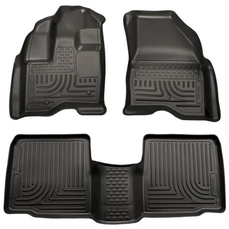 Ford Explorer All Weather Floor Mats - husky weatherbeater all weather floor mats for 2011 2014