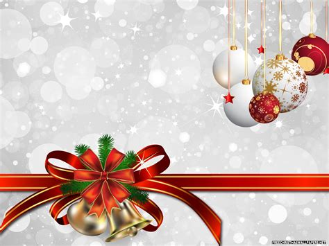 bells and christmas decorations on a white background on christmas wallpapers and images