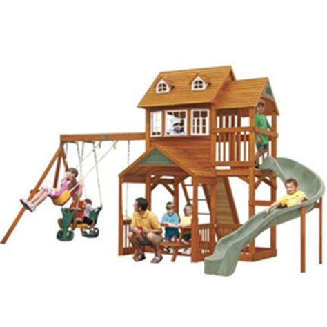 Big Backyard By Solowave® 'willowdale' Wooden Play Centre