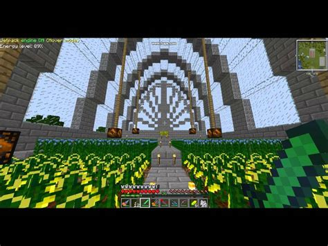 minecraft ftb greenhouse build youtube