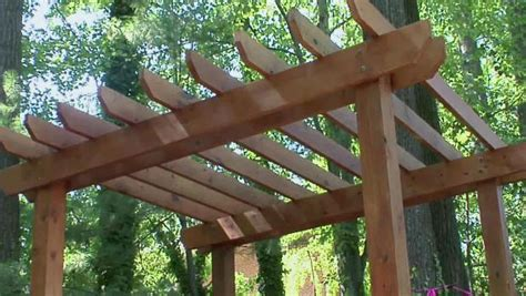 Holzlaube Selber Bauen by How To Build A Pergola Diy