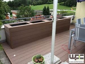 wpc bilder referenzen terrassendielen wpc terrasse bilder With französischer balkon mit musik garten app