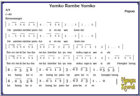not angka yamko rambe yamko sky fly papua barat tarian adat rumah adat pakaian adat senjata tradisional makanan