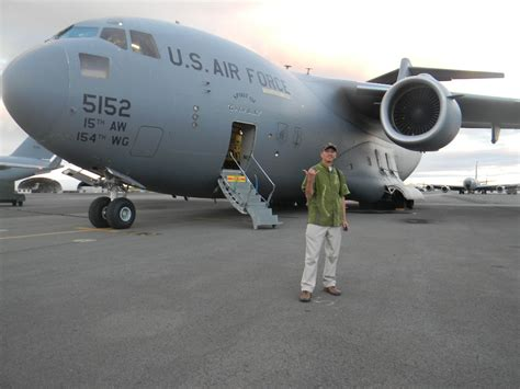 C 17 Globemaster Iii Returns Home After Humanitarian