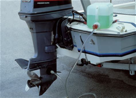 How To Winterize A Boat With Closed Cooling by Winterizing Your Outboard Motor West Marine