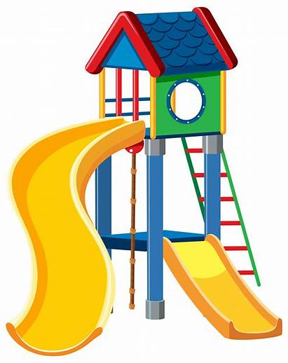 Playground Background Cubby Vector Clip Clipart Playing