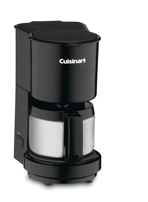 Serves up to 4 cups with ease. Cuisinart DCC-450BK 4-Cup Coffeemaker with Stainless-Steel Carafe, Black , New, | eBay